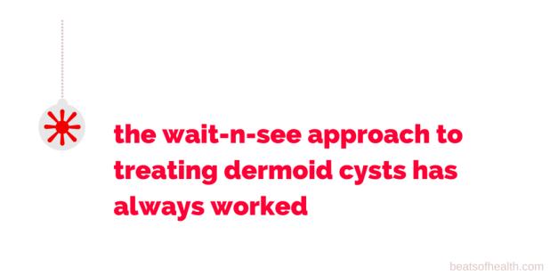 Dermoid ovarian cyst cause sexual desires