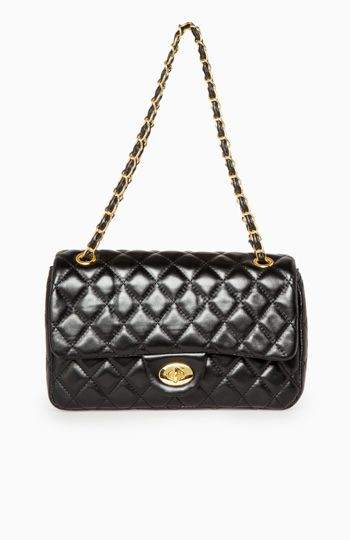 dc9291704b5b Quilted Lady Bag in Black