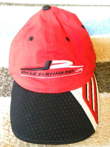 Dale Earnhardt Jr. #8 Red hat cap size youth Chase Authentics Drivers A-Flex  Note: hat is a deep red - sorry looks lighter than really is in some pics due to sunshine reflecting, is in really good shape.