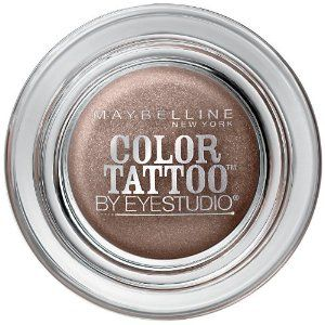 About $8-10. Maybelline 24 Hour Eyeshadow, Bad To The Bronze. These eyeshadows are super. They last all day, and don't crease!......my go to shadow for something super easy and fast!!!!!