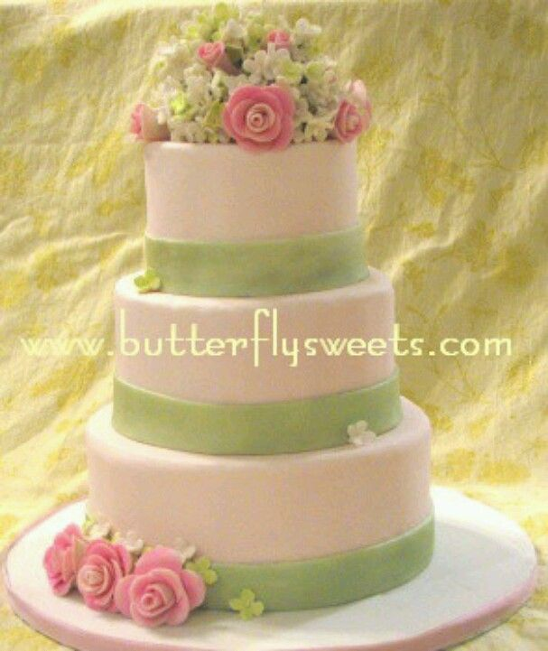 Rose/moss green | Cakes | Pinterest | Cake