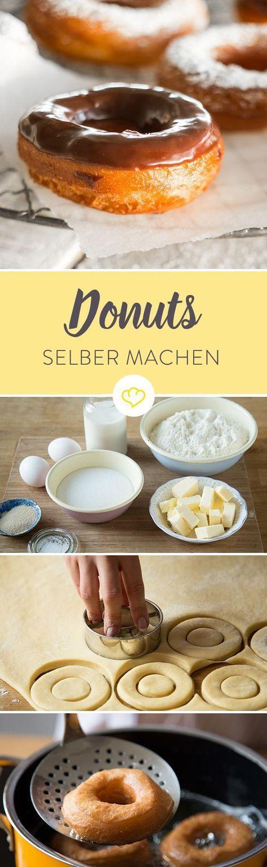 donuts selber machen so backst du deine lieblingskringel rezept doughnat backen geb ck. Black Bedroom Furniture Sets. Home Design Ideas
