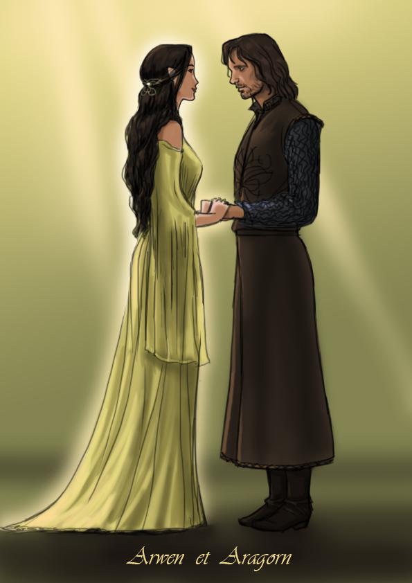 Azalea's Dolls   Displaying (14) Gallery Images For Arwen And Aragorn Bridge...