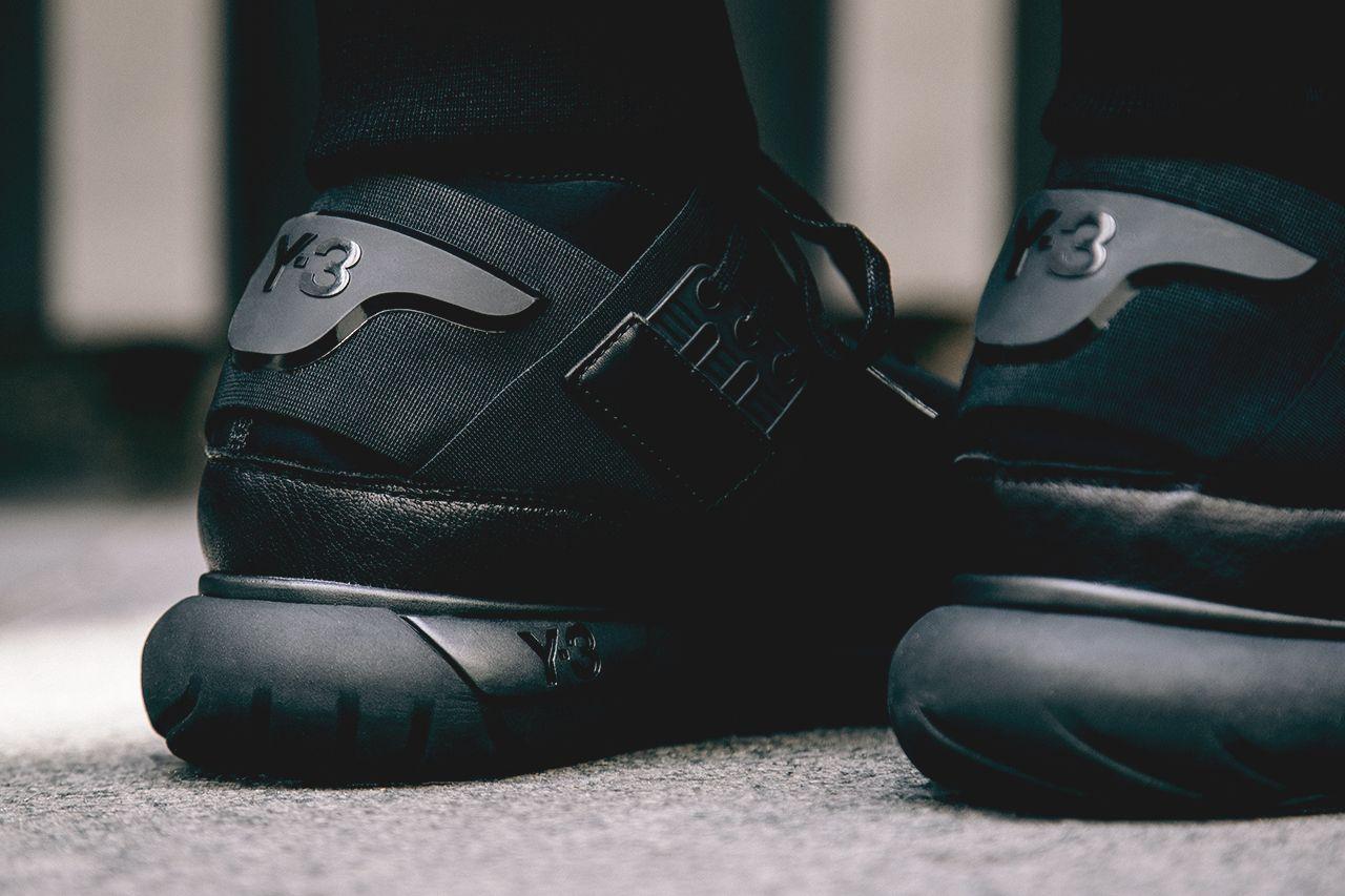 "2a424d02b788 Adidas Y-3 Qasa High ""Black"". (via Wish Atlanta"