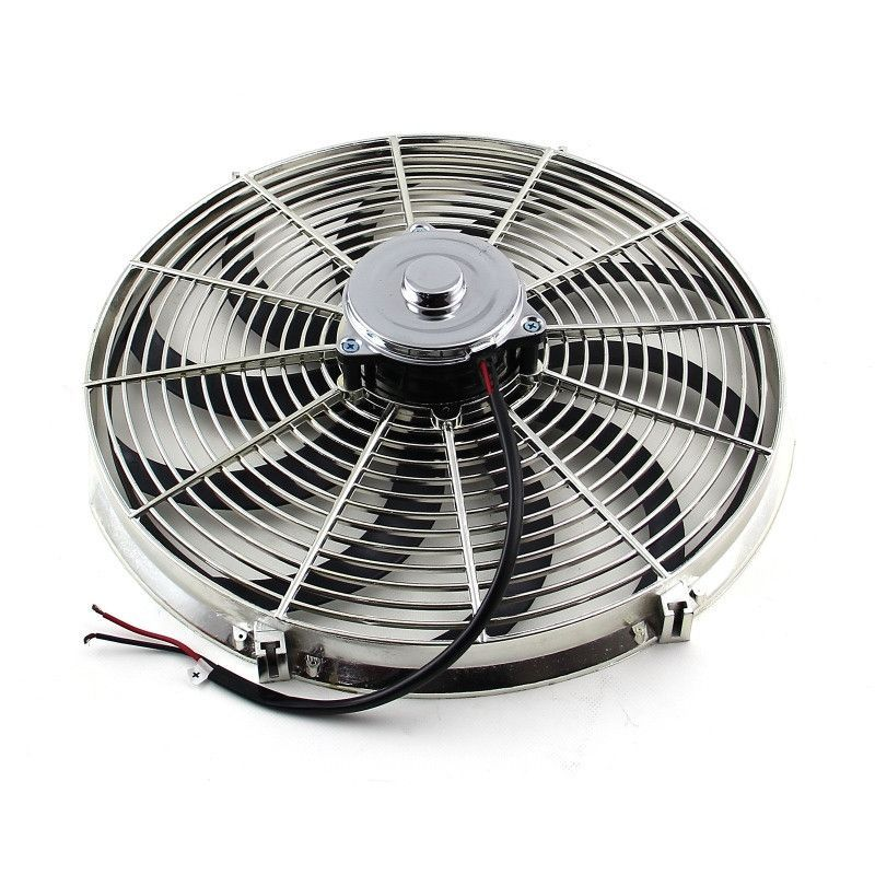 16 Reversable 12v 39 S 39 Blade Radiator Electric Thermo Fan