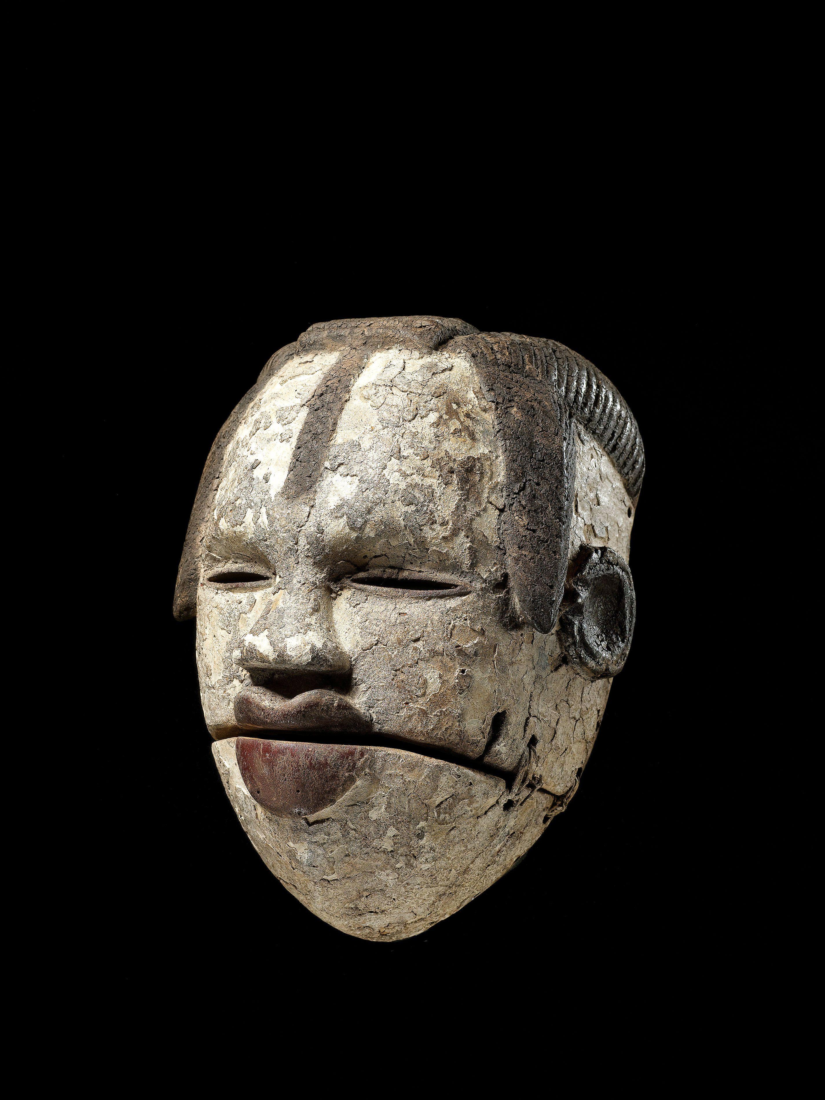201 Pingl 233 Par Serge Trullu Sur Ogoni Masques Africains
