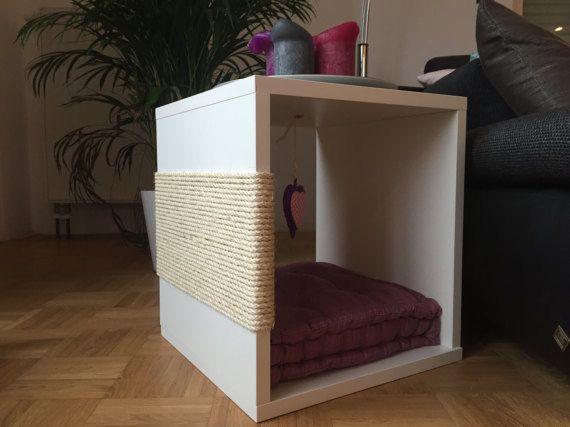 design kratzbaum katzenm bel beistelltisch von kratzdiekatz kratz die katz design. Black Bedroom Furniture Sets. Home Design Ideas