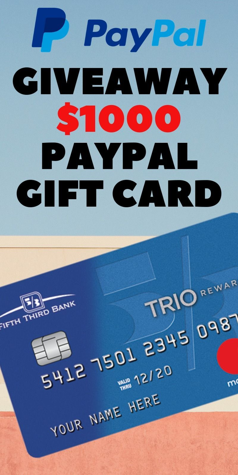 Photo of Get a $1000 PayPal Gift Card Giveaway !!!!
