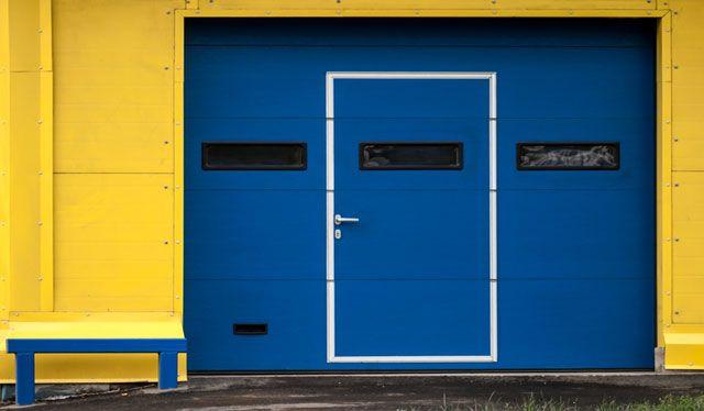 Same day repair for commercial overhead garage doors in Westchester County New York we fix all types of commercial garage doors in Westchester NY & Walk through garage door New Rochelle | Building Materials ...