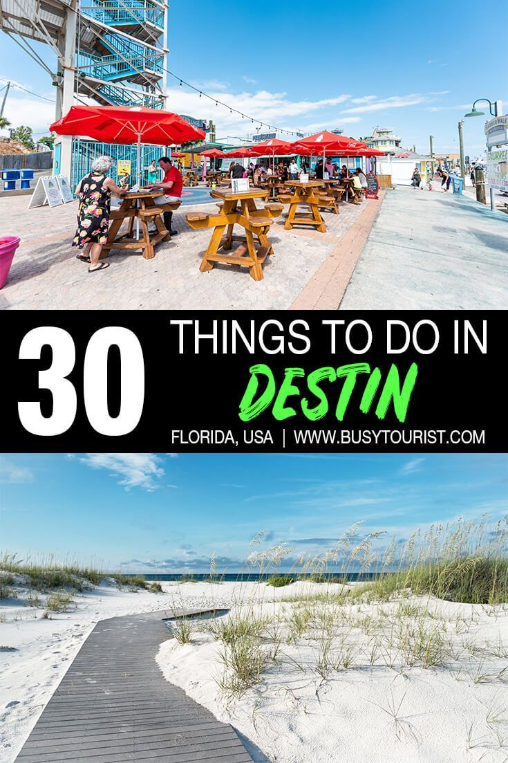 30 Best & Fun Things To Do In Destin (Florida)