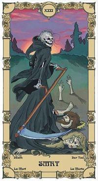 Tarot Karta Smrt Pripada Pripada Elementu Vode U Astrologiji Ova