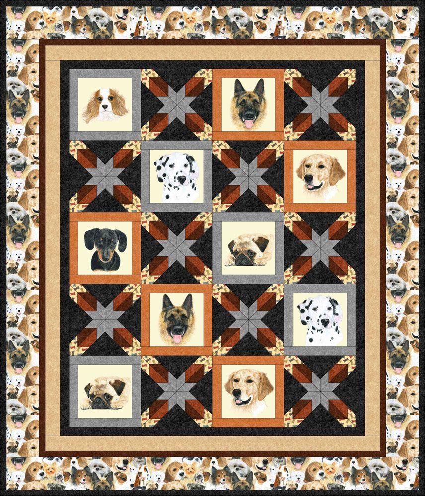 man's best friend free quilt pattern Deer quilt