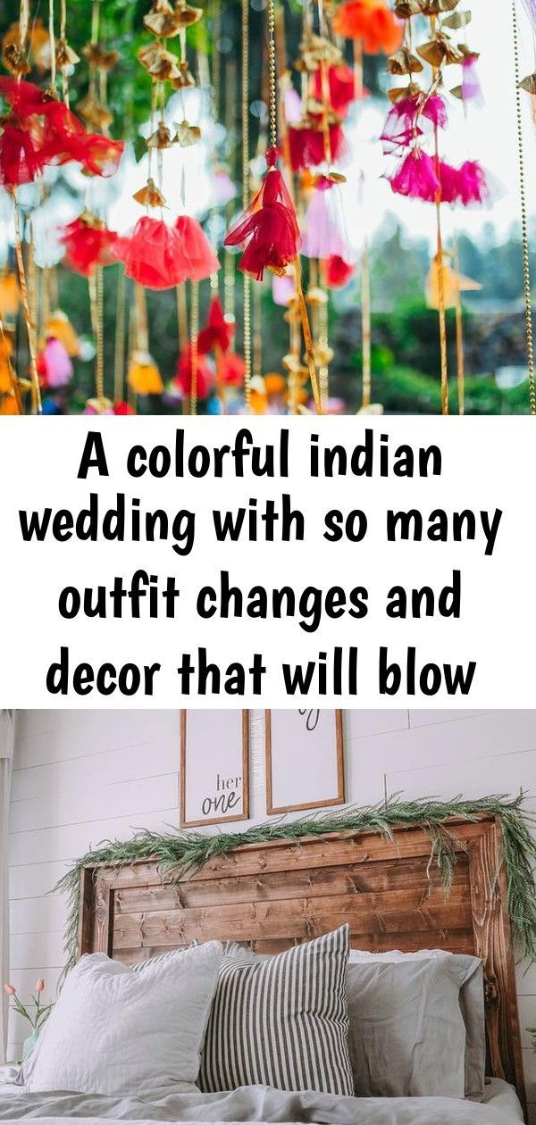 A colorful indian wedding with so many outfit changes and decor that will blow your mind 1 #pooloutfitideas A colorful Indian wedding with so many outfit changes and decor that will blow your mind Her One, His Only Wood Sign Set // Newlyweds // Wedding // Anniversary // Bedroom Decor // His and H 55 Brilliantly Awesome Backyard Pool Ideas to Turn into Relaxing Retreats #backyardpoolideas #poolideas » froggypic.com #pooloutfitideas