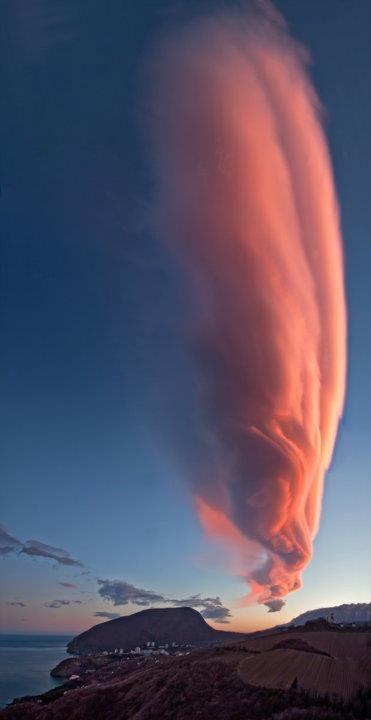 A Painted Sky Rund Um Den Globus Mutter Natur Naturbilder