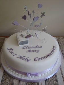 FirstCommunionCenterpieceIdeasFruit Christening Cakes Holy