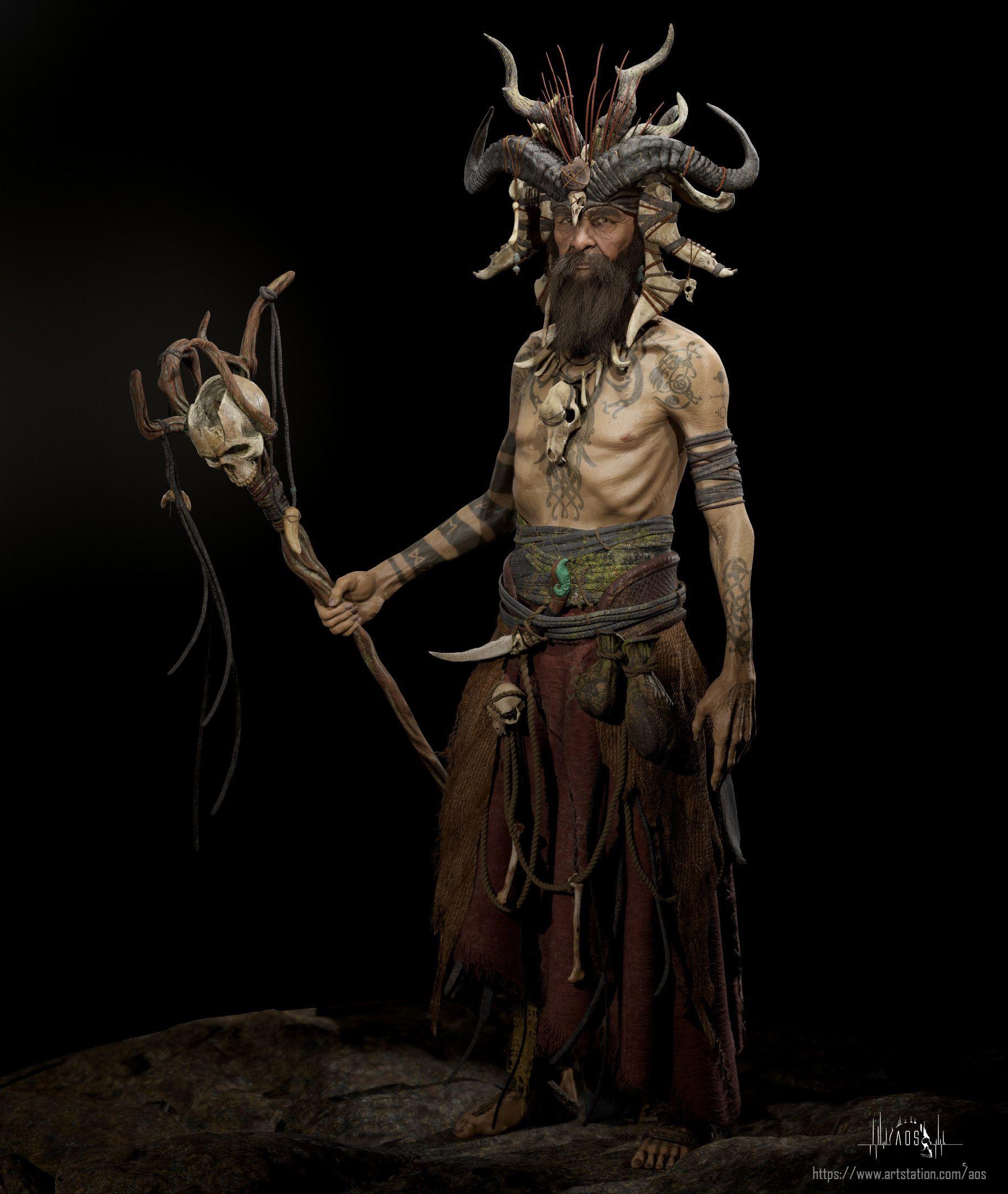 531b243ee4a ArtStation - Norse Shaman, Alejandro Olmo (AOS) | FS_Inspiration in ...