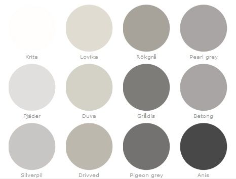 Gray Color Palette My Home Is In Shades Of Grays