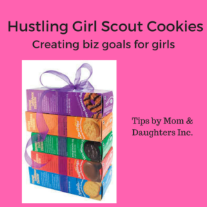 Fantasizing about another box of Thin Mints?  Girl, I ordered 4 boxes of Tagalongs.  Trust I understand the Girl Scout cookie obsession.  #munchmunch  Do you know what is also amazing about buying these cookies?  You are helping young girls learn how to start their own businesses