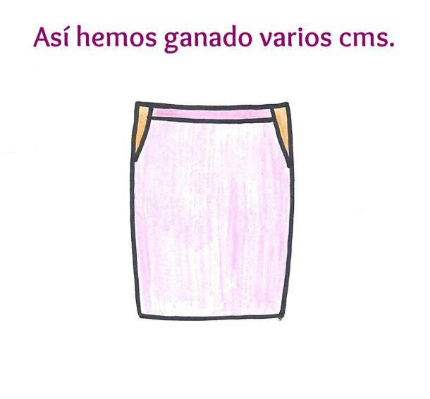 Cómo agrandar una falda añadiendo un peplum | ШИТЬЕ | Pinterest ...