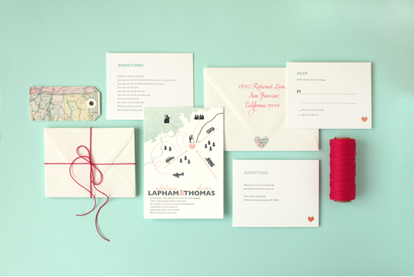 Minted Wedding Invitations   Giveaway