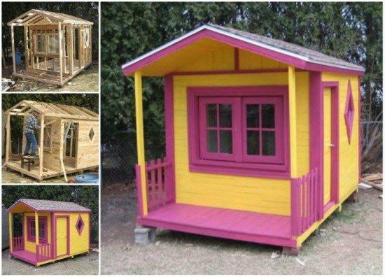 20 ideas muebles de exterior hechos con palets exterior - Muebles exterior palets ...