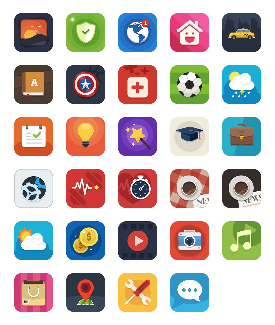 Free+Appstore+Category+Icons