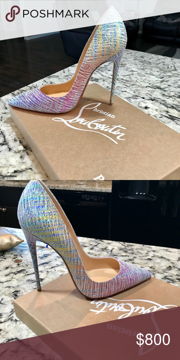 a430e560db1 Christian Louboutin so Kate unicorn heels Brand new 100% authentic ...