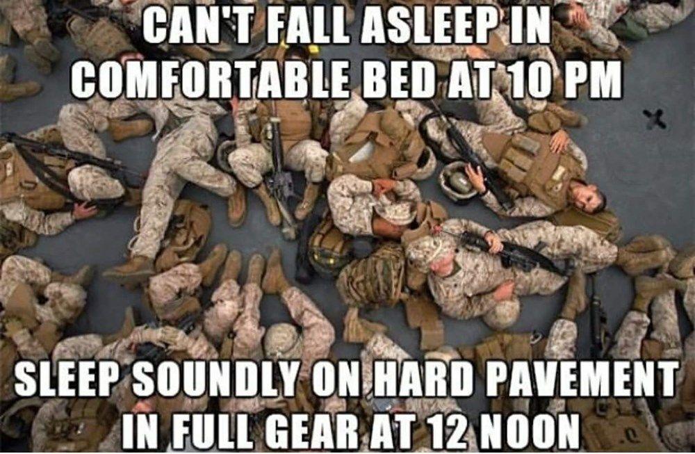 Marine Panty Dropper Meme