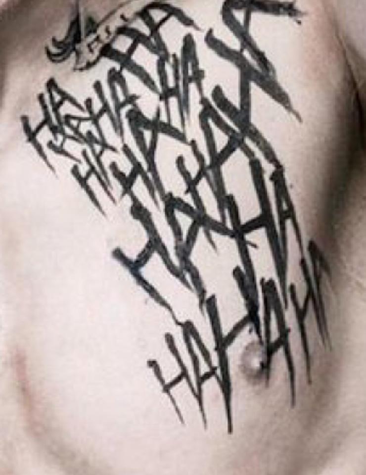 Joker Ha Ha Ha Tattoo: Resultado De Imagen Para Joker Tattoo Hahaha