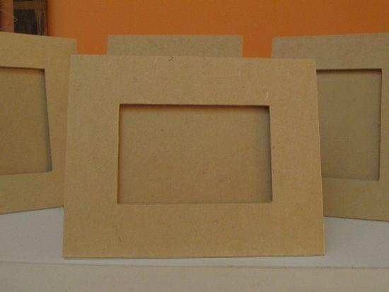 como hacer marcos para fotos de carton - Buscar con Google | Ideas ...