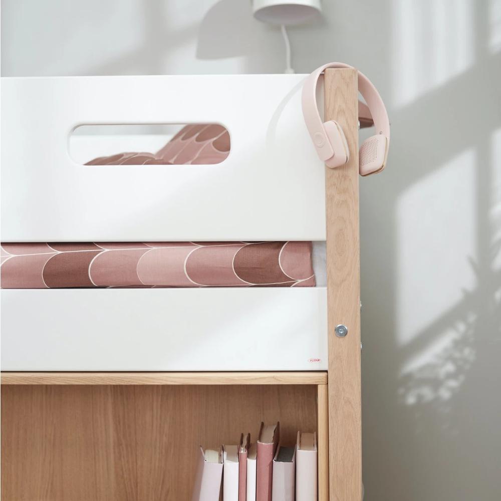 Flexa Nor Mittelhohes Bett Mit Senkrechter Leiter Etagenbett Kinder Moderne Kinderbetten Kinder Mobel