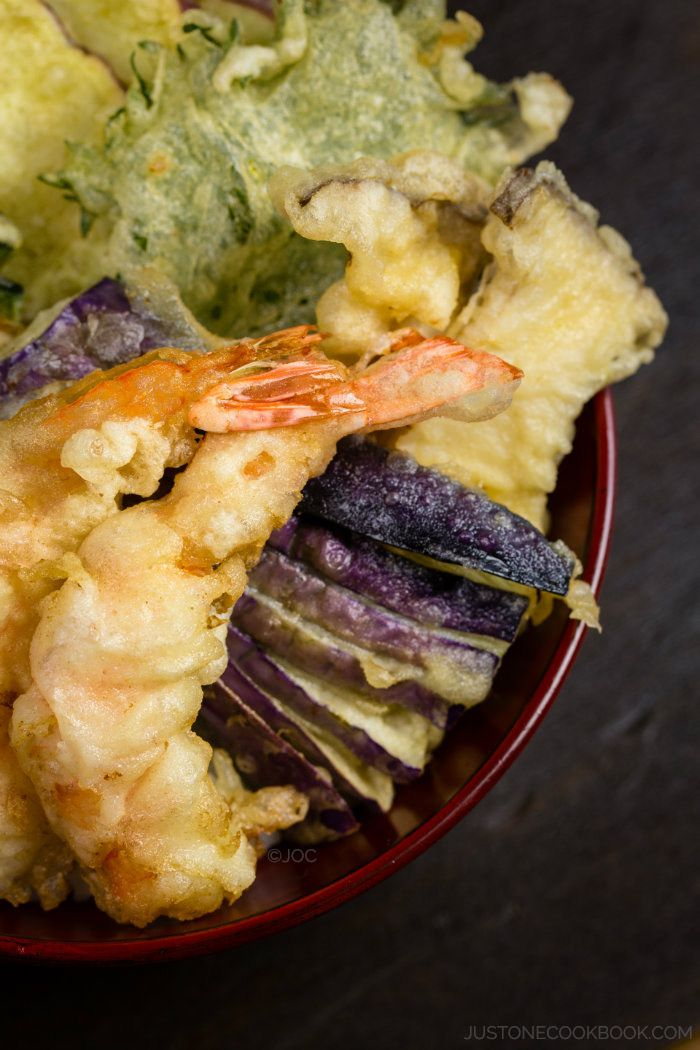 Ten don recipe tempura japanese and easy tempura donburi easy japanese recipes at justonecookbook forumfinder Choice Image