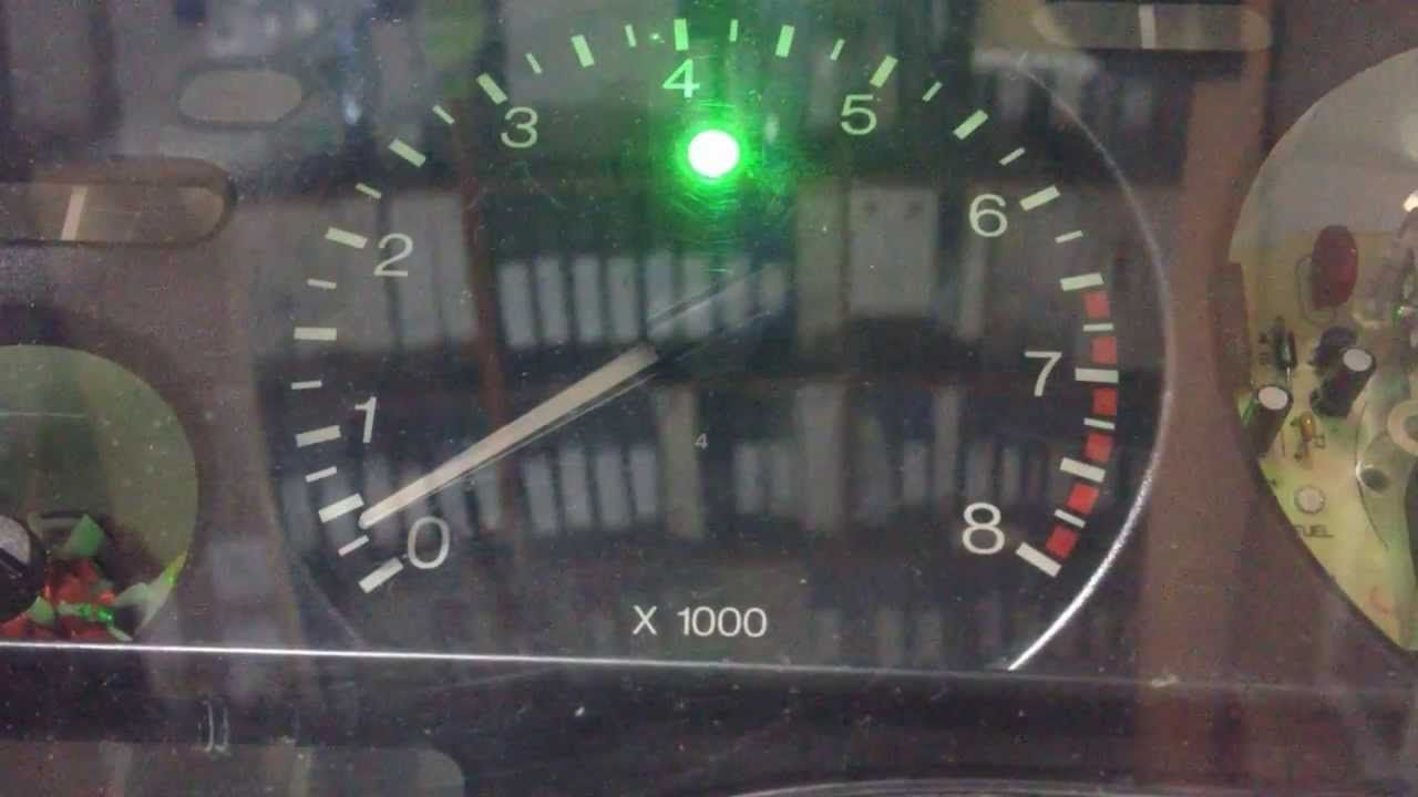 Ford Mondeo MK1/MK2 shiftlight tuning NFS style (gauges modification, tuning)