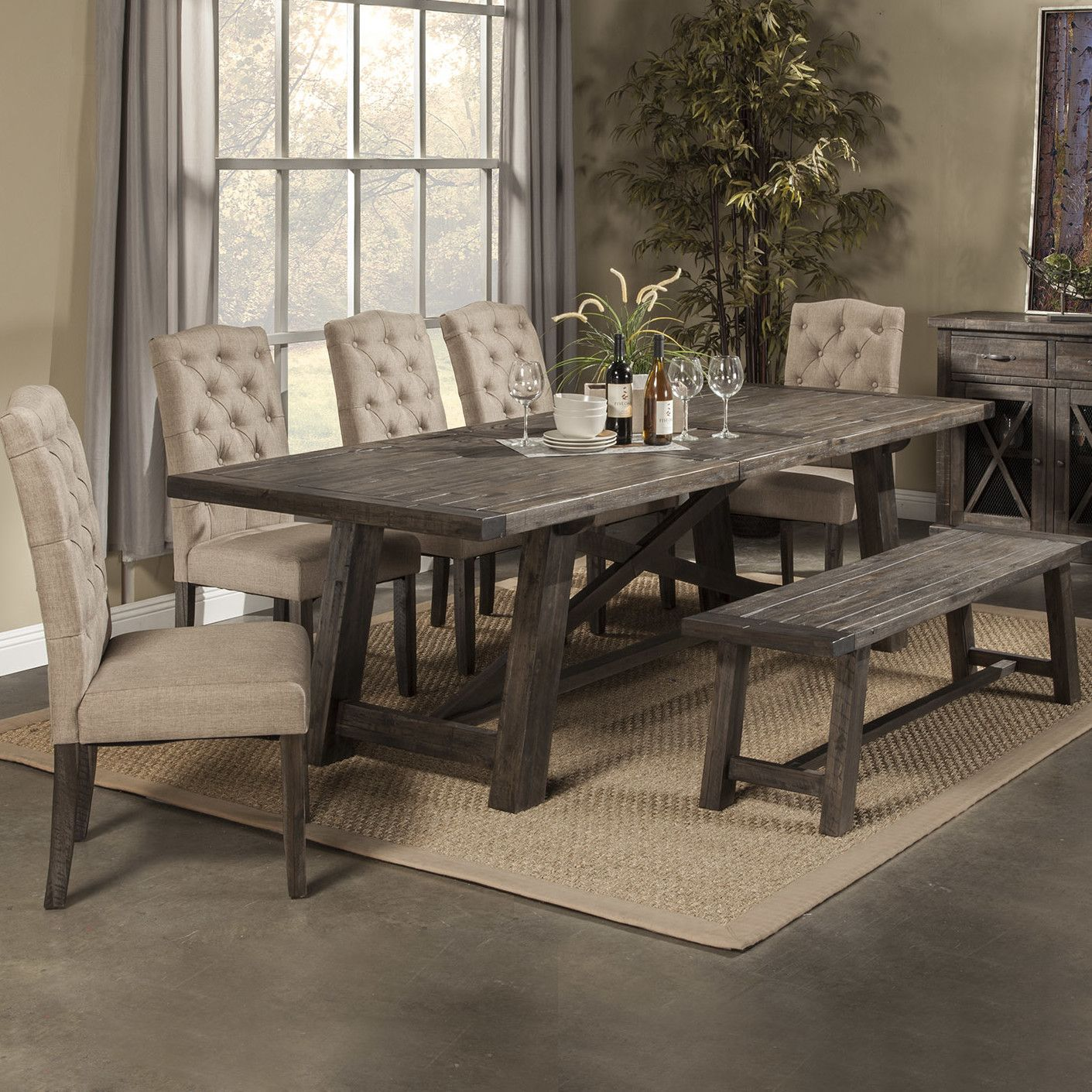 Loon Peak Todd Creek 7 Piece Dining