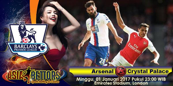 Prediksi Arsenal vs Crystal Palace, Preview Arsenal vs Crystal Palace, Arsenal vs Crystal Palace akan bertemu di partai lanjutan Liga Primer Inggris yang rencananya akan digelar pada hari Minggu, 01 Januari 2017 Pukul 23:00 WIB dan disiarkan secara live dari Emirates Stadium, London.