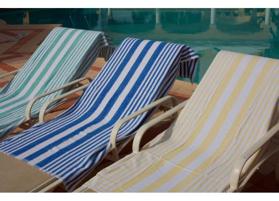 Tropical Stripe Pool Towels 30 X 60 Pool Towels Towel Set