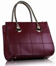 Damska cervena kabelka Quilt #bags #fashion