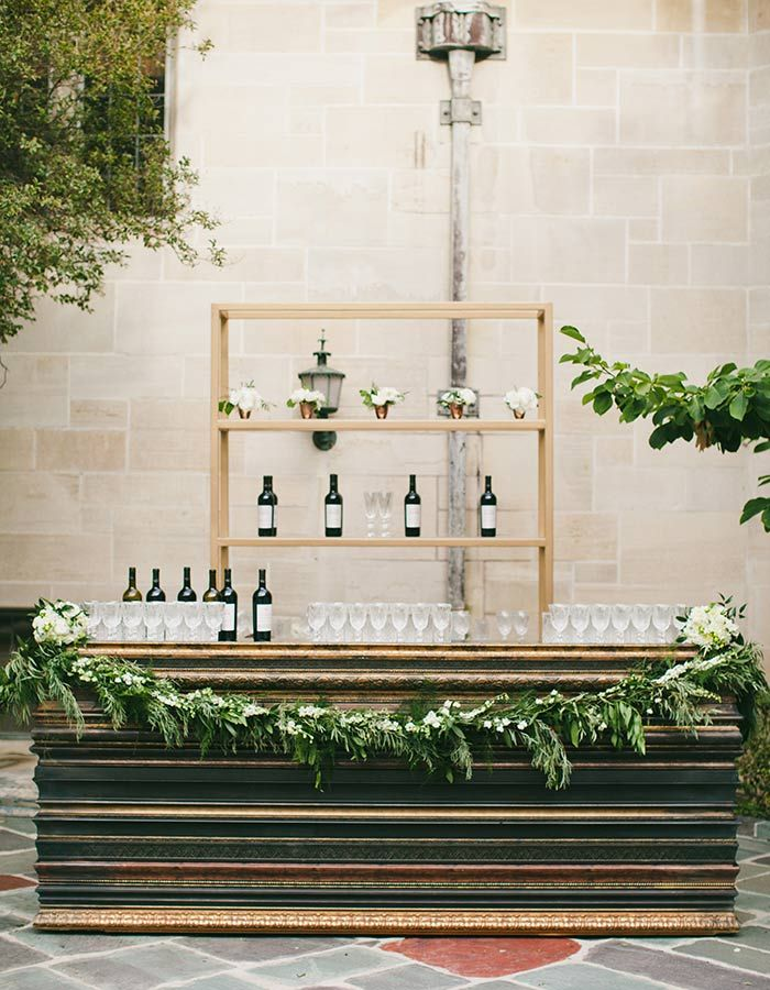 wedding locations north california%0A Take an inside look at this elegant Greystone Mansion wedding that looks as  if it were