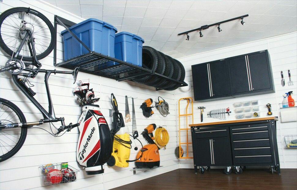 Rangement Cabanon Garage Storage Garage White Wall Paneling