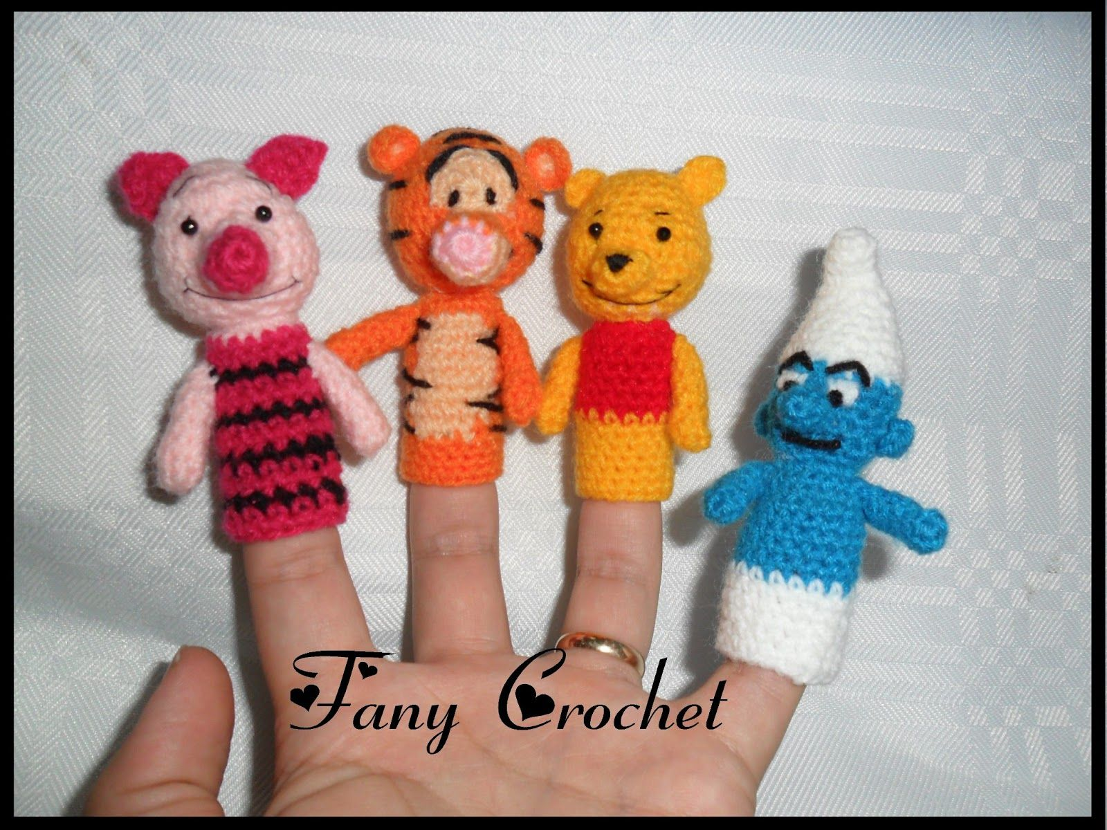 Fany Crochet: Titeres de dedos | PATRONES GRATIS DE OTROS AUTORES ...