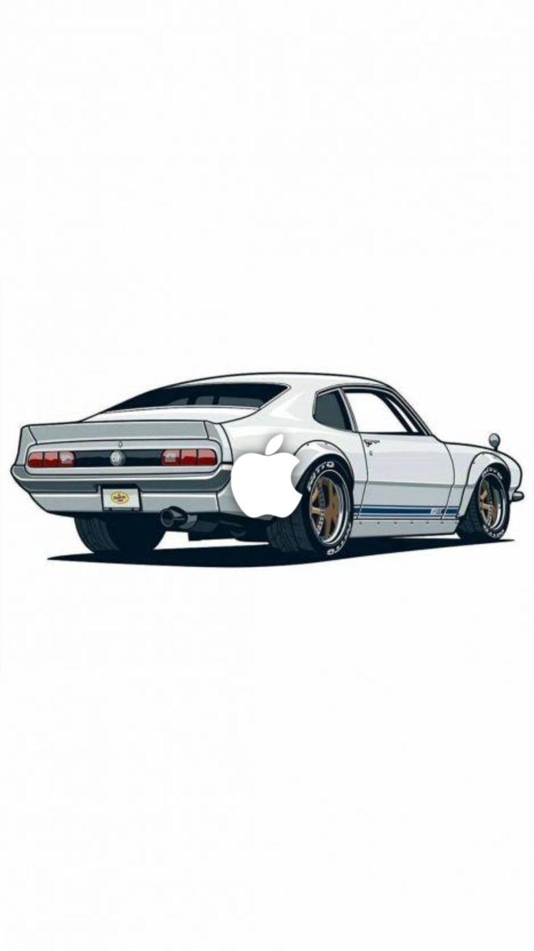 Iphone Wallpapers Retro Cars Car Cartoon Car Iphone Wallpaper