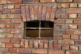 Fenêtre, Brique, Vieux, Accueil
