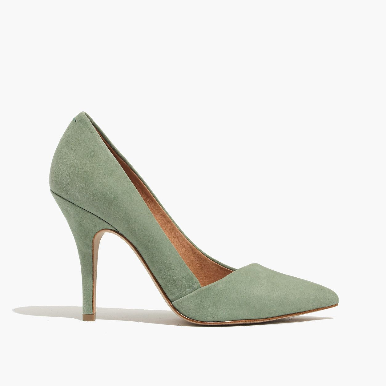 53b02f1caf9 Suede Sage Heel from Madewell