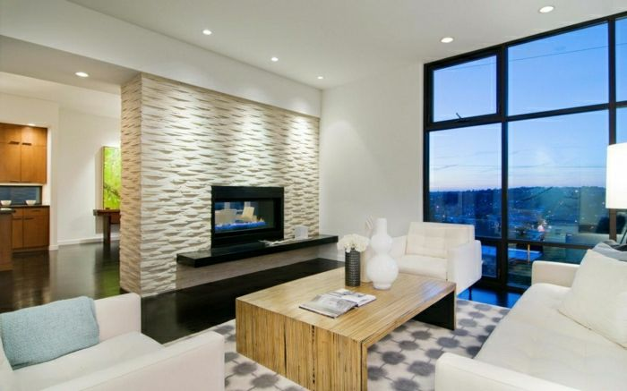 Exceptional Stilvolles Wohnzimmer Gestalten Wohnzimmer Einrichten Wandpaneele Tv Wand  Fernsehwand