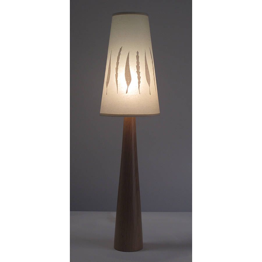 autumn leaf classic table lamp by helen