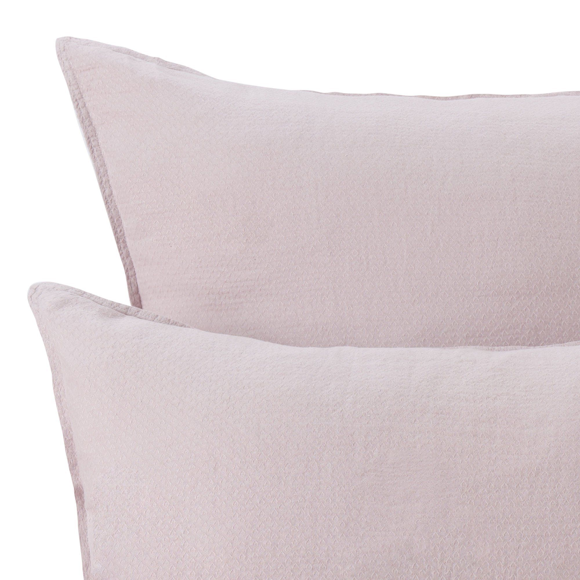 Leinen Bettwasche Lousa Zartrosa 155x220 Cm Leinenbettwasche