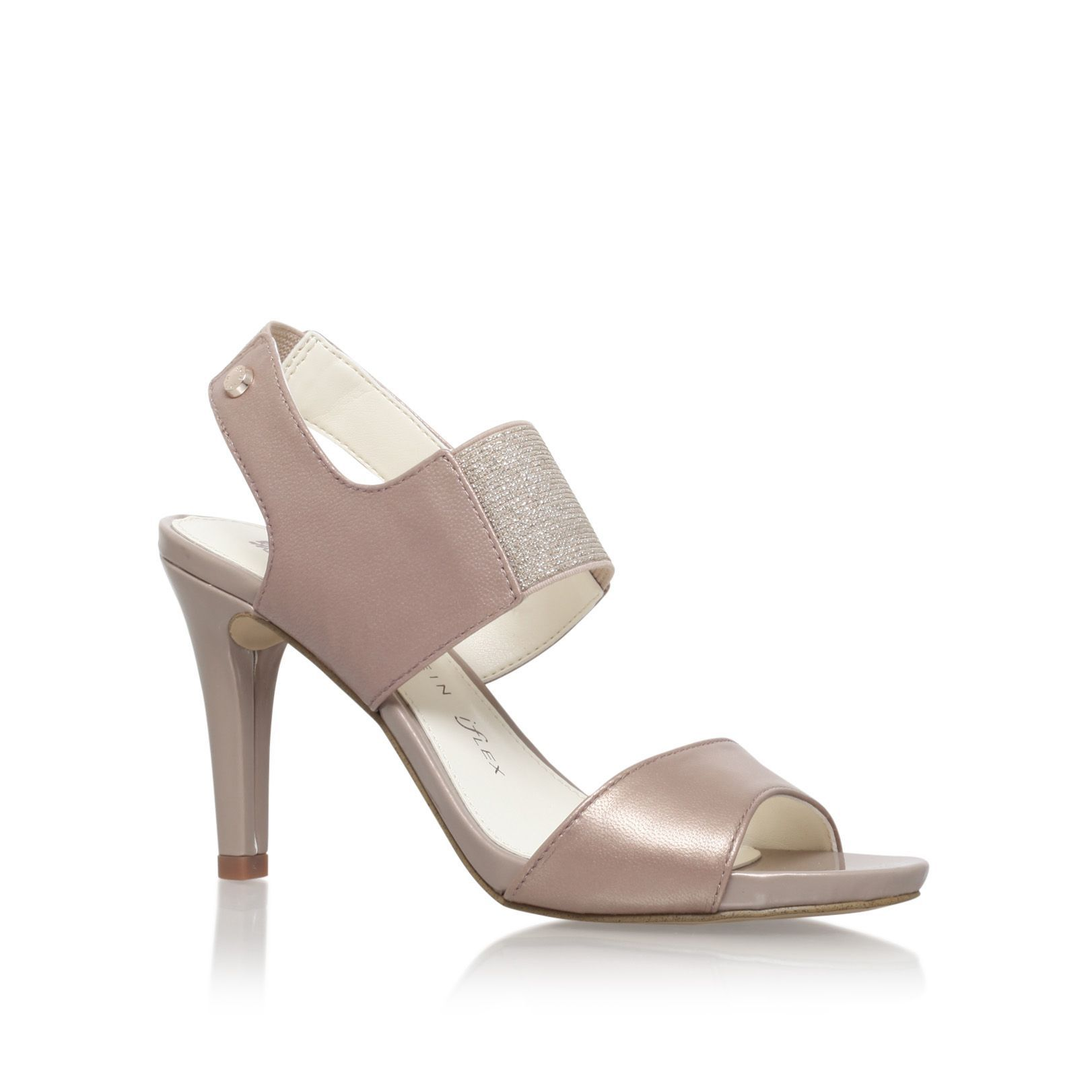 Anne Klein Olexia high heel sandals, Bronze