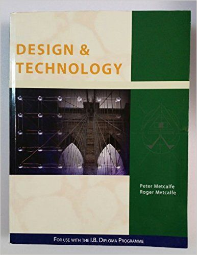 International Baccalaureate Design and Technology: Peter Metcalfe