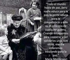 Frases Maria Montessori Sobre Educacion Buscar Con Google