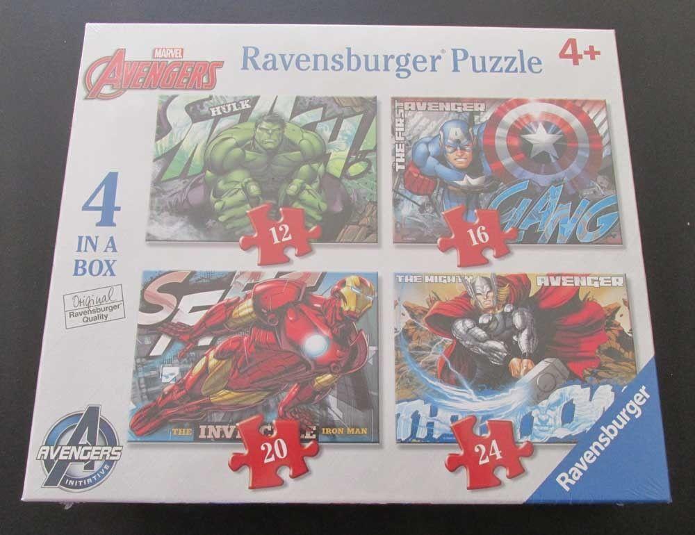 Ravensburger Marvel Avengers 4 in a Box